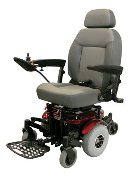 Shoprider, 6Runner 10 Deluxe (Mid Wheel Drive), Power Chair, 858WM