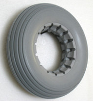 7X2 Urethane  Rib Tire Fits Most 2-Piece Wheels