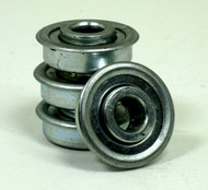 "5/16 x 29/32"" Flanged 4 Pack Wheelchair Bearings"
