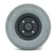 Pair, 8X2 Caster Wheels With Foam Filled Tires and Bearings