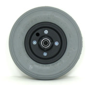 Pair, 8X2 Caster Wheels With Foam Filled Tires and B20 Bearings