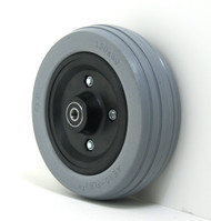 Pair, 6X2 Caster Wheels With Urethane Tires and B10 Bearings