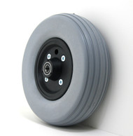 Pair, 8X2 1/2 Caster Wheels With Urethane Tires and B20 Bearings