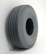 "4.10 X 3.50-4 (11"" X 14"") Foam Filled Sawtooth Tire"