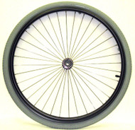 "24"" Radial 36 Spoke Wheel, 2"" Standard Hub"