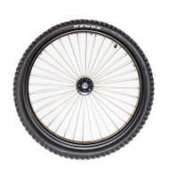 "24"" Radial 36 Spoke Wheel, 3"" Flanged Hub"