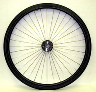 "25"" 36 Spoke Wheel with 3"" Flanged Hub"