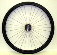 "26"" 36 Spoke Wheel with 3"" Flanged Hub"