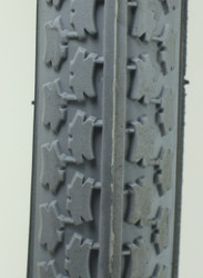 "Pair, 24 x 1"", Street Tire tread"