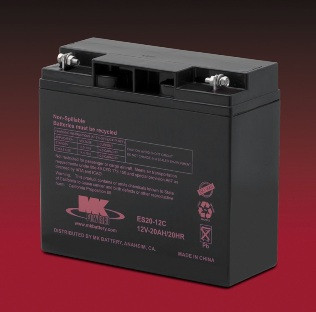 M20-12 SLD M ,  MK Sealed Light Duty AGM Battery (MK Original)
