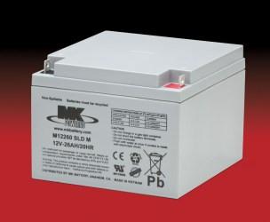 M12260 SLD M ,  MK Sealed Light Duty AGM Battery (MK Original)