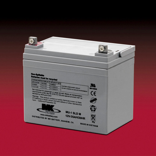 MU-1 SLD M-Premier Light ,  MK Sealed Light Duty AGM Battery (MK Original)
