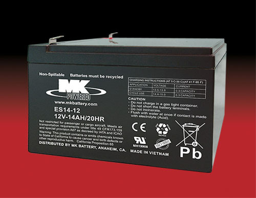 ES14-12 ,  MK Small Sealed Battery (MK Original)