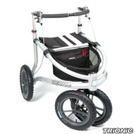 "Trionic Veloped Tour 14"" tires - Walker Rollator - Medium 14"" tires- Black # 11-00-207"