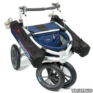 "Trionic Veloped Golf 14"" tires - Walker Rollator - Medium 14"" tires- Navy # 11-00-213"