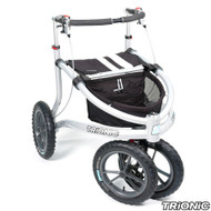 "Trionic Veloped Sport 14"" tires - Walker Rollator - Medium 14"" tires-Black # 11-00-203"