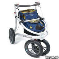 "Trionic Veloped Trek 14"" tires - Walker Rollator - Medium 14"" tires- Navy/Black/Yellow # 11-00-210"