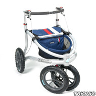 "Trionic Veloped Sport 14"" tires - Walker Rollator - Medium - 14"" tires-Navy # 11-00-204"