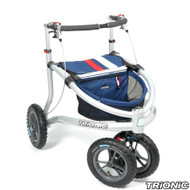 "Trionic Veloped Sport  12"" tires - Walker Rollator - Medium - Navy # 11-00-104"