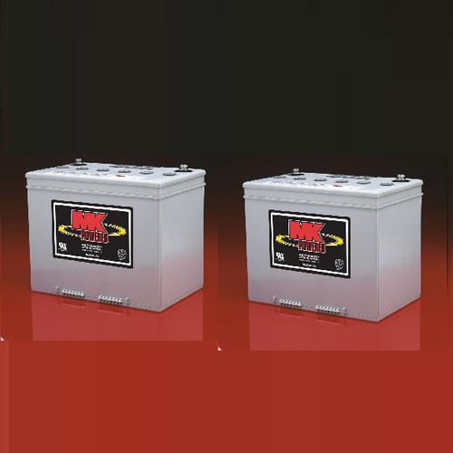 M24 SLD G FT - Pair,  MK Sealed Heavy Duty Gel Battery (MK Original)