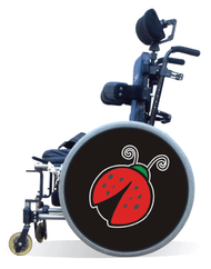 Spoke Guard Covers-Lady Bug