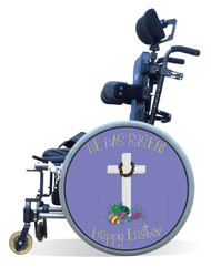Wheelchair Spoke Guard Covers-Easter
