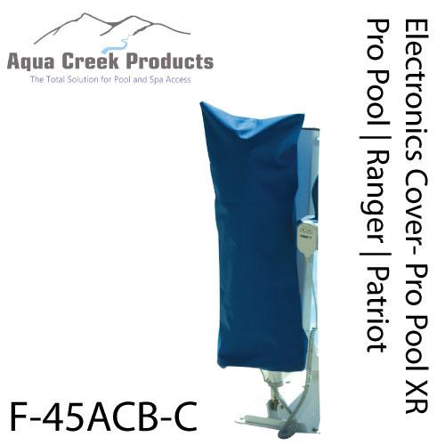Aqua Creek - Electronics Cover for Pro Pool Lift, XR, Ranger & Patriot, Blue - F-45ACB-C