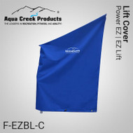 Aqua Creek - Pool Lift Cover, Standard, for EZ & PEZ w/ Hard Seat Option (Blue) - F-440EZHSC