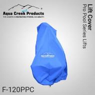 Aqua Creek - Pool Lift Cover, Standard (Blue) for Ranger, Admiral, Ambassador, Patriot, Pro - F-120PPC