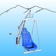 Aqua Creek - Hard Seat Option w/Chains (Includes 4-Pt Hanger, chains & Seat Belt), EZ PEZ & SPEZ - F-0320HSO-4C