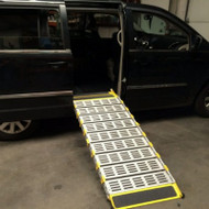 "Roll-A-Ramp - Van Ramp, Non-Powered, 30"" x 8' - MF-30 - 6061 Aerospace Aluminum Design - will not rust or corrode."