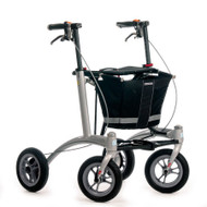 "Veloped Rollator Walker 9er- 9"" tires- Black/ Grey"