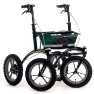 """Veloped Rollator Walker 14er- 14"""" tires- Green/ Black/ Red"""