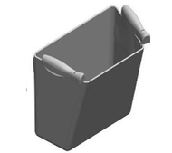 TOPRO Fabric basket # 814625 - Walking Aid Parts
