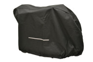 "Diestco Scooter Cover V5121 - Large Heavy Duty with full Backslit 33"" H x 28"" W x 55"" L"