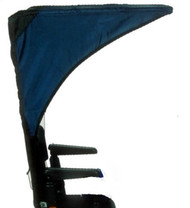 Diestco Scooter & Powerchair Canopy - Weatherbreaker Canopy Adult - C2210 Blue