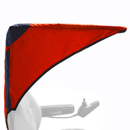 Diestco Scooter Cover - Weatherbreaker Canopy Pediatric - C2310 Red