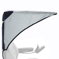 Diestco Scooter Cover - Weatherbreaker Canopy Pediatric - C2410 Gray