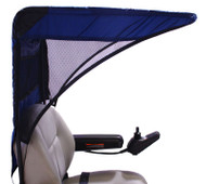 Diestco Scooter Cover - Vented Weatherbreaker Canopy Adult - C1220 Blue