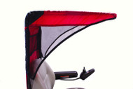Diestco Scooter Cover - Vented Weatherbreaker Canopy Adult - C1320 Red