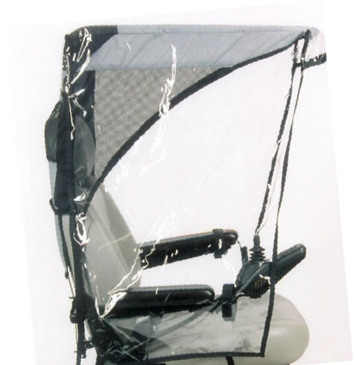 Diestco Scooter Cover - Max Protection Weatherbreaker Canopy Adult - C1430 Gray
