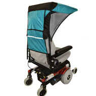 Diestco Scooter Cover - Double Wide Weatherbreaker Canopy Adult - C3120 Teal