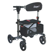"Escape Rollator Charcoal -19"" seat height"