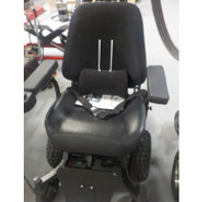 V6 Frontier - All Terrain Electric Power Wheelchair BLUE Demo Model
