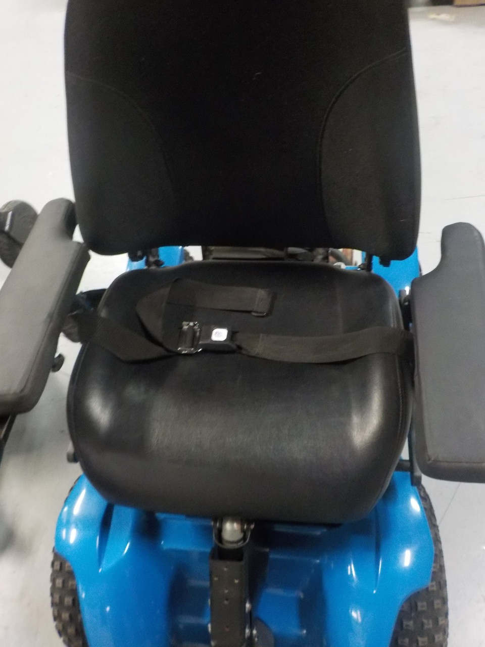 X8 4X4 Extreme All-Terrain Electric Power Wheelchair Blue Demo Model