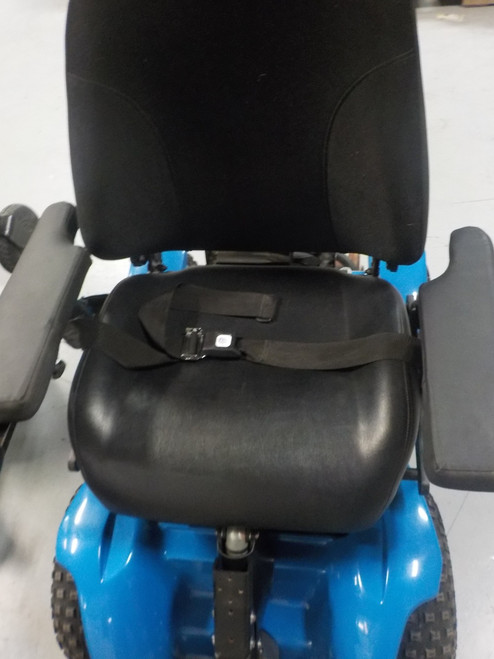 X8 4X4 Extreme All-Terrain Electric Power Wheelchair Blue Demo Model 1