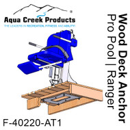 F-40220-AT1: Wood Deck Anchor