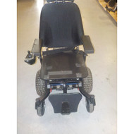 V6 Frontier - AT Electric Power Wheelchair - BLUE - Demo Model