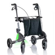 TOPRO Troja Parkinson's Rollator Neuro Laser -Small - Optional backrest # 814744 - SILVER