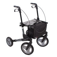 TOPRO - TROJA Olympos-Medium, Dark Grey - WITH BACKREST - Rollator Walker # 814307